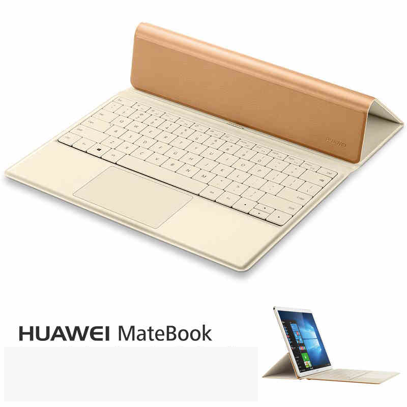 2016 Fashion PU Backlight Docking Keyboard case for 12 inch Huawei MateBook 2 in 1 Tablet PC,for Huawei MateBook keyboard case