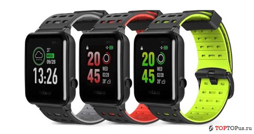 Лучшие умные часы - Xiaomi WeLoop Hey S3